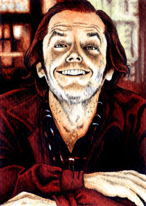 Jack - The Shining Fan Art (16869722) - Fanpop