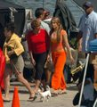 Jennifer Lopez-On set, may