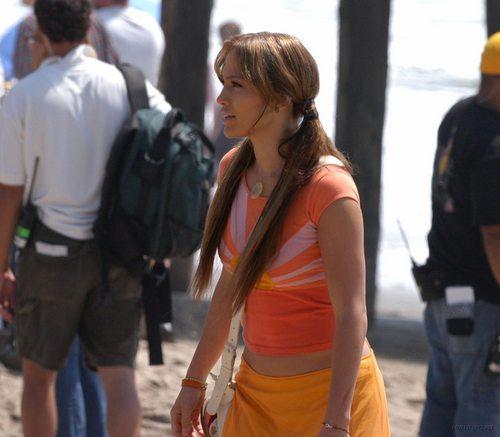 Jennifer Lopez-On set, may