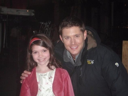 Jensen Ackles wallpaper probably containing a surcoat and a blouse entitled Jensen