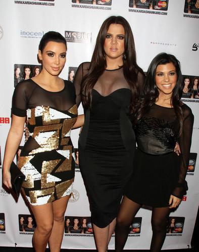 Kardashians @ Kardashian MasterCard Launch