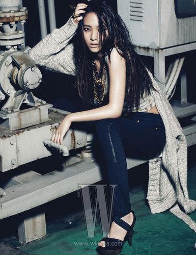 Krystal for Calvin Klein