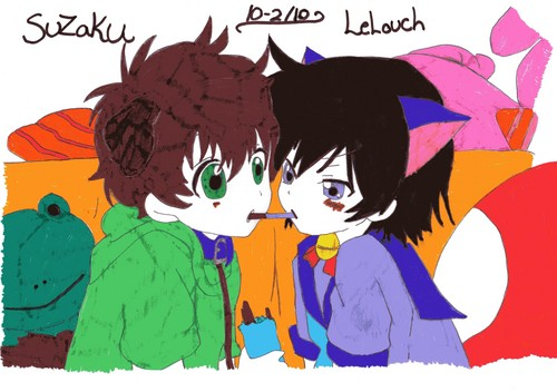 Lelouch and Suzaku - lelouch-x-suzaku Fan Art