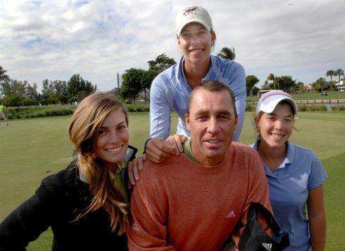Lendl and daughter