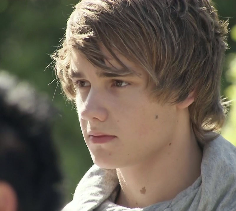 "Liam At Judges House Singing ""Torn"" :) x"