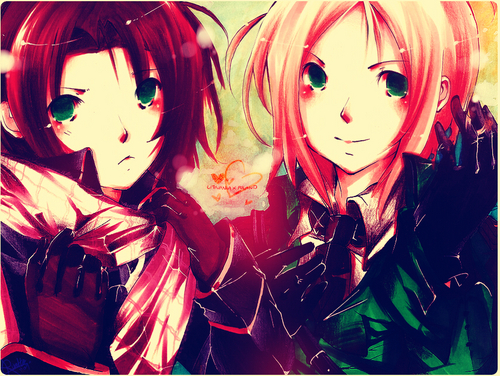 Lithuania & Poland - hetalia Photo