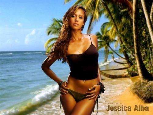 Lovely Jessica پیپر وال