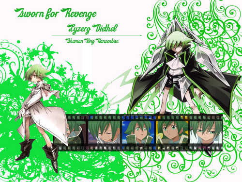 Shaman King wallpaper possibly with anime entitled Lyserg