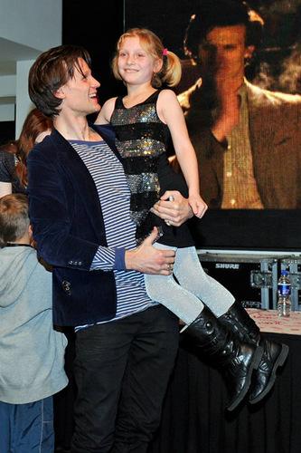 Matt & Karen at DVD release signing at HMV оксфордский, oxford, оксфорд улица, уличный 8/11/10