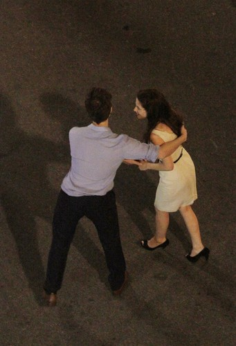 mais Rob & Kristen 'Breaking Dawn' Part 1 Set Pictures