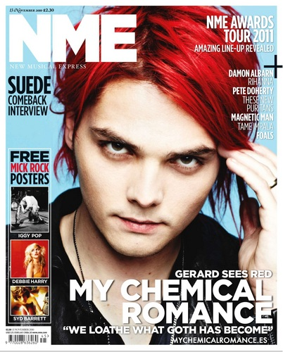 My Chemical Romance Feature in the November 13 2010 Issue of NME
