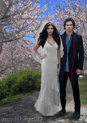 My Delena-wedding Fanart