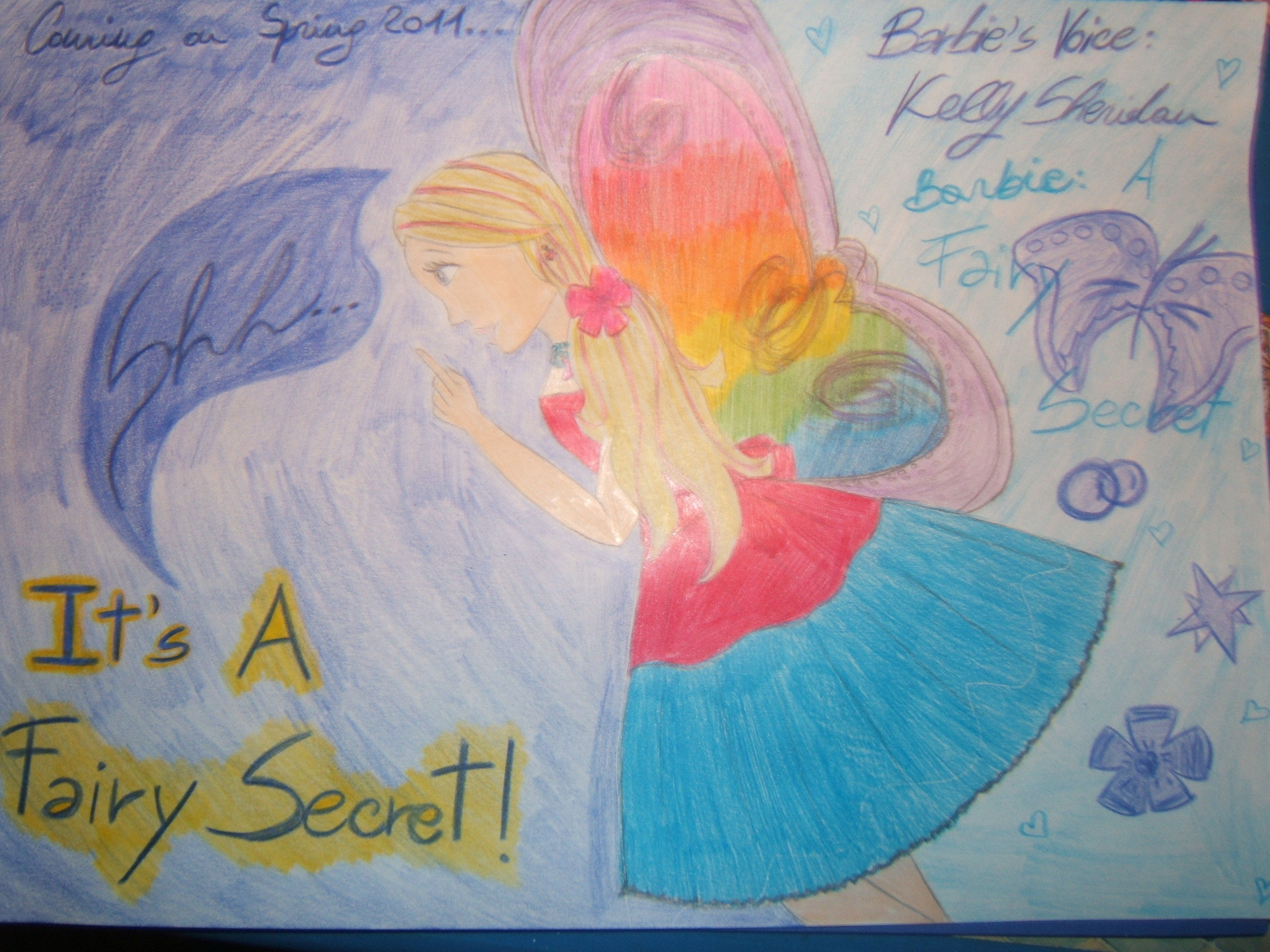 My پرستار Art for Barbie A Fairy Secret