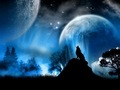 Mystical নেকড়ে