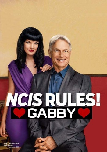 NCIS - Unità anticrimine - TV GUIDE (gabby version manip - fake)
