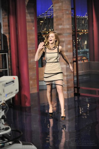 New /old Photo Letterman (2009)