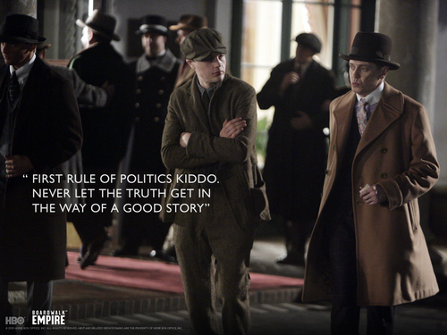 Nucky & Jimmy - boardwalk-empire Wallpaper