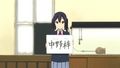 OP2 - Name Signs - k-on screencap