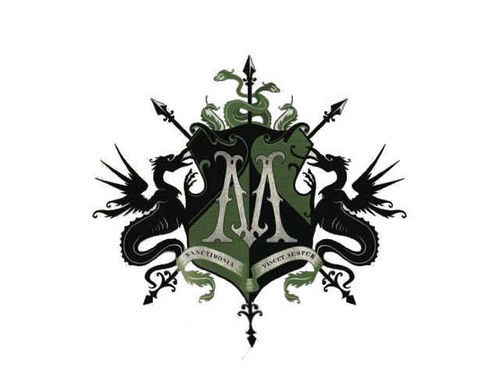 The Malfoy Family wallpaper entitled Official Malfoy Family Crest