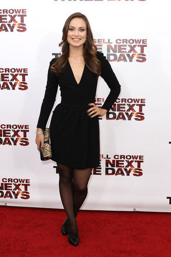 Olivia Wilde @ the New York Premiere of 'The Next Three Days'