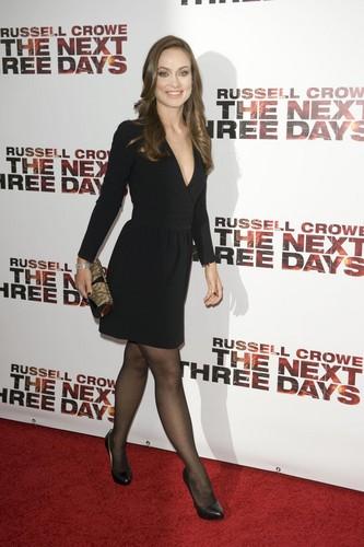 Olivia Wilde @ the New York Premiere of 'The 下一个 Three Days'