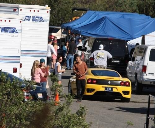 On The Set of 90210 Season 3 - November 09th, 2010