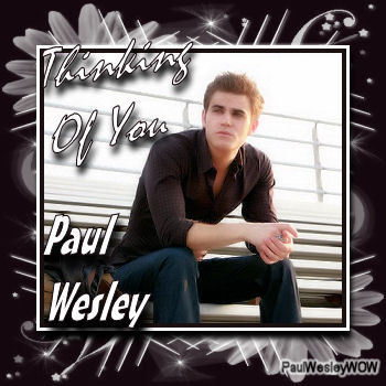 Paul Wesley wallpaper possibly with a sign and anime titled Paul<3