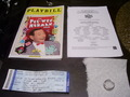 Pee Wee Herman Show Broadway Abstinence Ring worn by Pee Wee!!