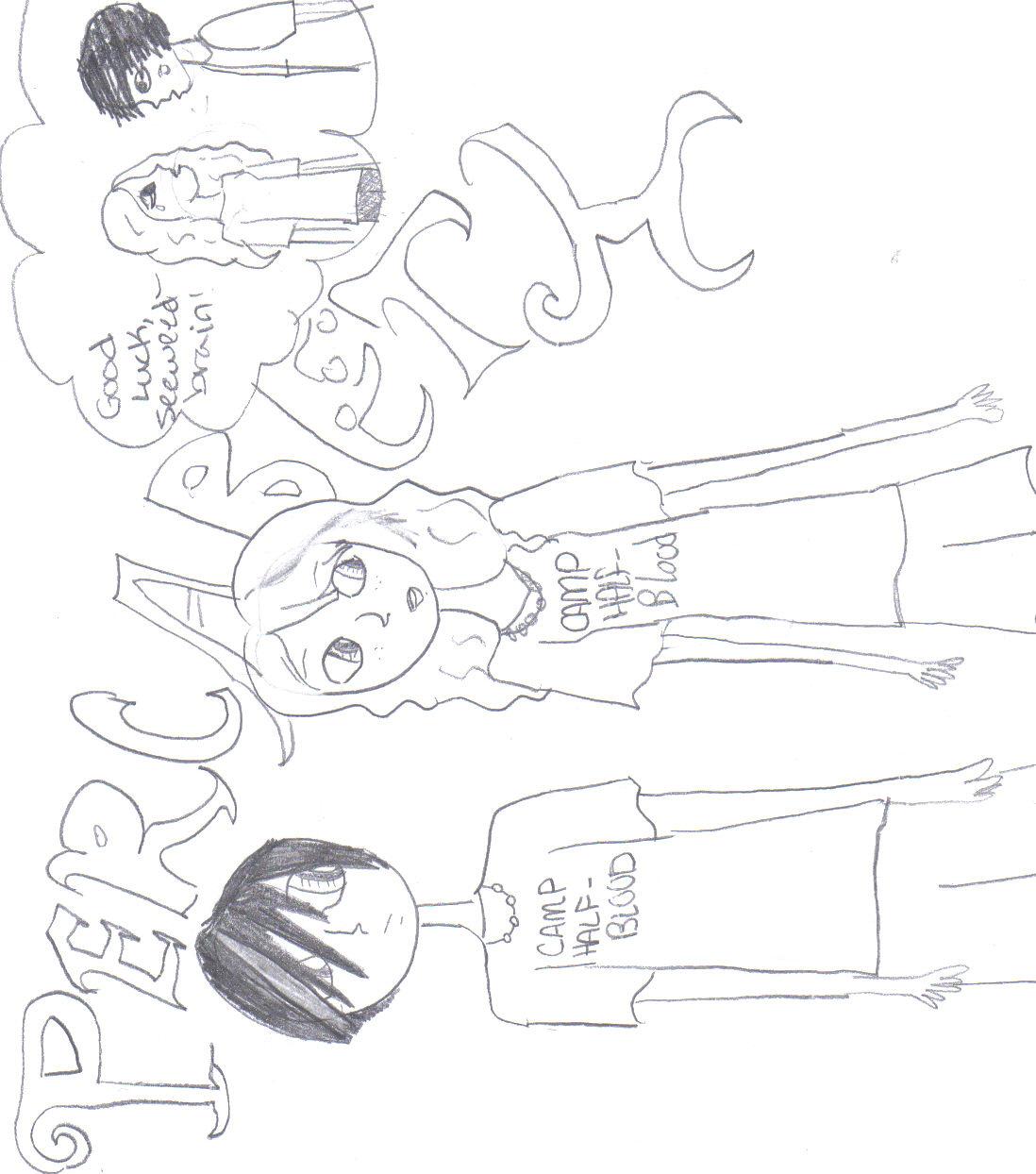 Percabeth- Percy and Annabeth