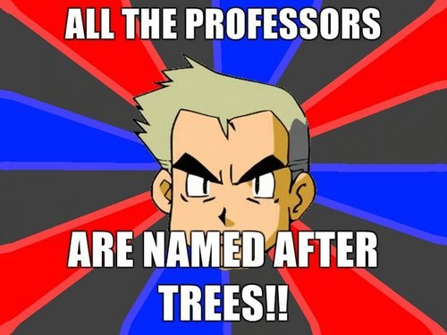 Prof. Oak knows all!