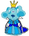 Queen Blue - blues-clues fan art