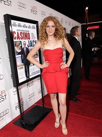 "Rachelle presents the film ""Casino Jack"" (08/11/10)"