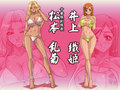Rangiku and Orihime - yuri-manga-and-anime wallpaper