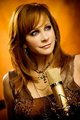 Reba on set of Strange video