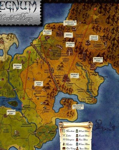 Regnums Map