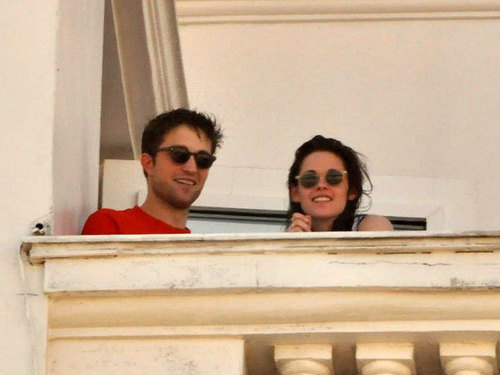 Rob and Kristen in Brazil