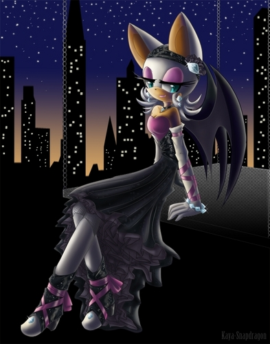 Rouge the Bat - Night Beauty