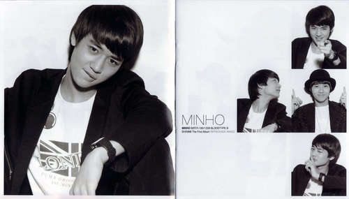 Shinee wallpaper containing a portrait titled SHINee AMIGO Scans