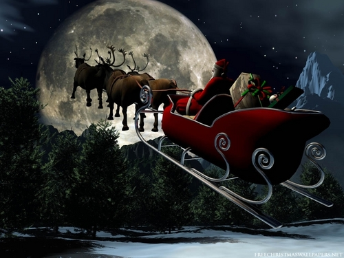 Santa Claus is coming to town :)