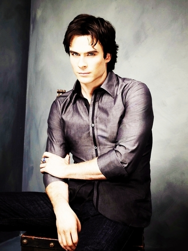Damon Salvatore پیپر وال containing a well dressed person titled Season Two Promotional Pictures
