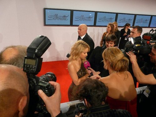 Shakira at the 62nd Bambi Awards 2010 (red carpet)