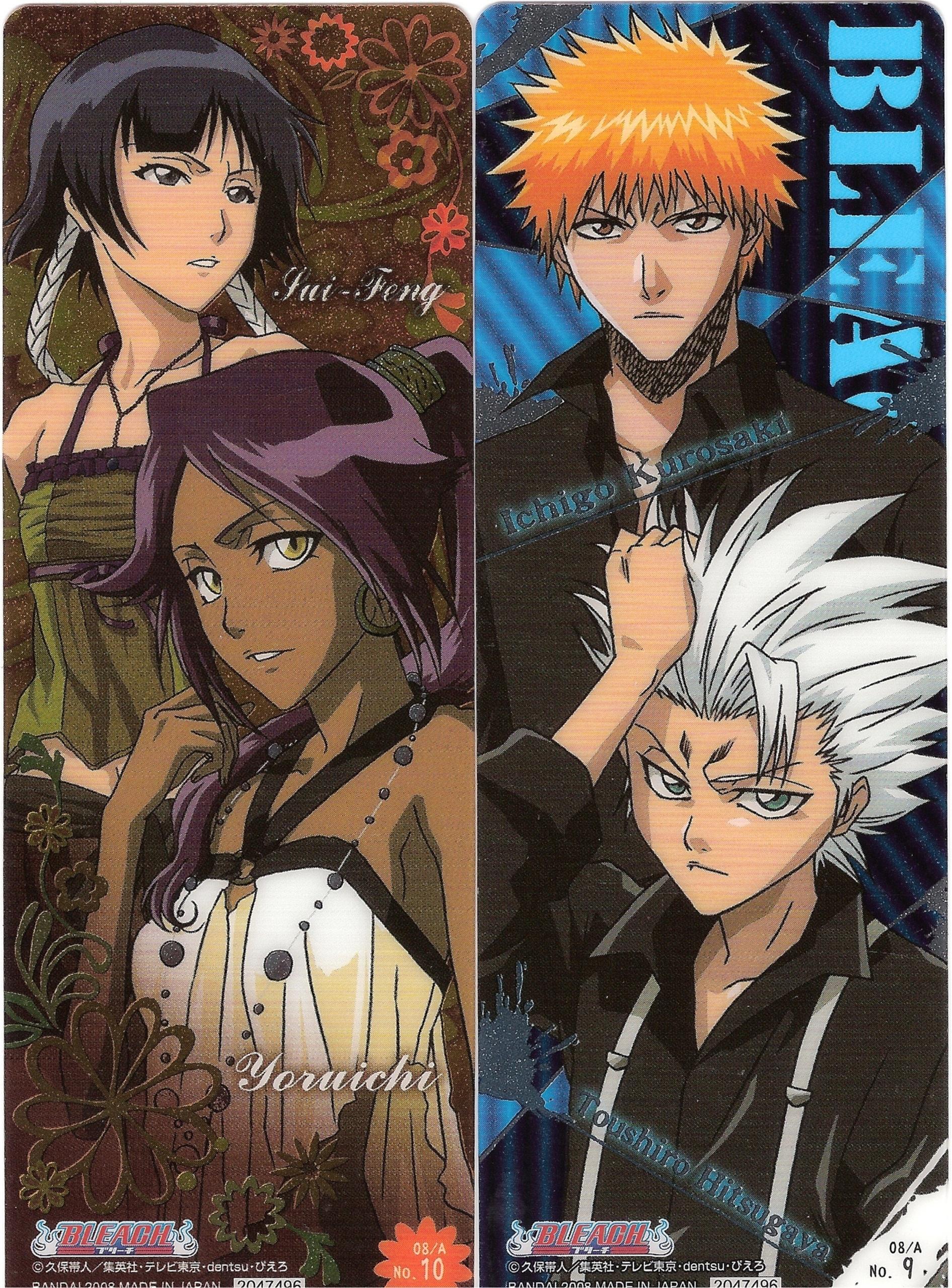 download its about Bleach Anime Soifon Yoruichi Ichigo Toshirou pic