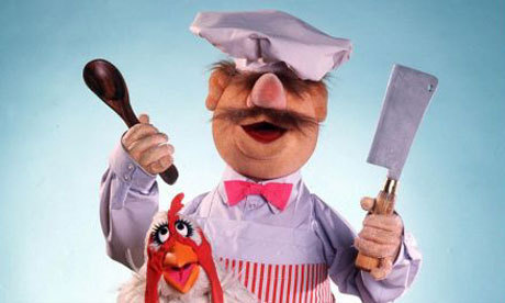 Swedish Chef wallpaper with a cleaver and a spatula entitled Swedish Chef