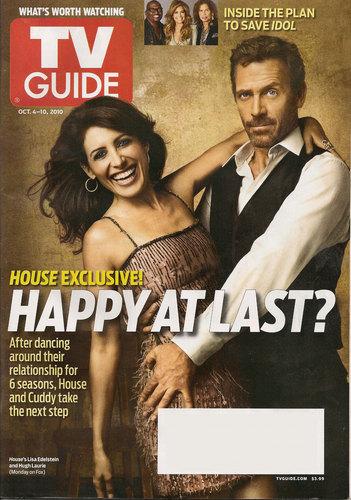 TV Guide: Lisa and Hugh as House & Cuddy