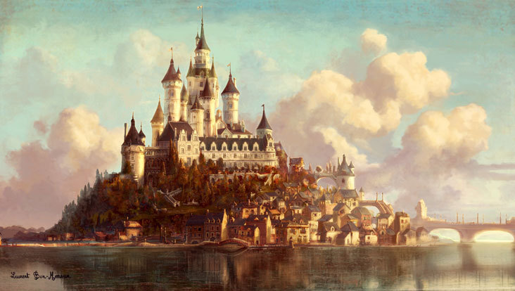 castle concept art by - photo #33