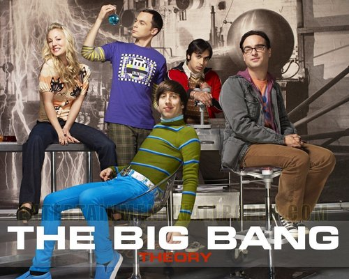 生活大爆炸 壁纸 called The Big Bang Theory