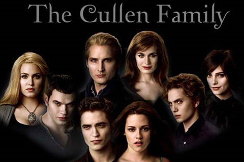 The Cullens वॉलपेपर with a portrait called The Cullen's
