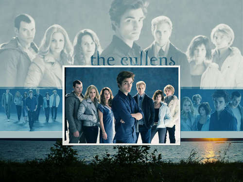 The Cullens پیپر وال titled The Cullen's