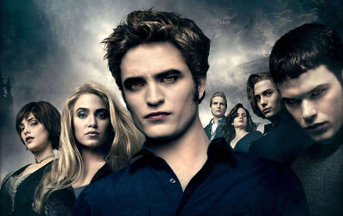 The Cullens wallpaper with a portrait titled The Cullen's