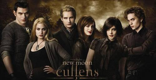The Cullens वॉलपेपर containing a well dressed person and a portrait titled The Cullen's